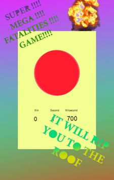 Touch Red Button poster