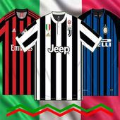 Jersey Link Match 17/18 Serie A Home Kits Edition icon