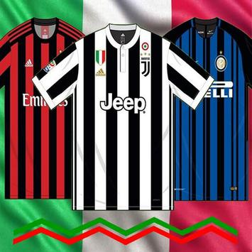 Jersey Link Match 17/18 Serie A Home Kits Edition poster