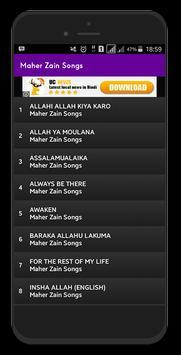 Maher Zain Songs screenshot 1