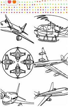 Airplane Coloring Book APK Download - Free Educational GAME for ...