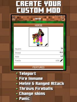 Mods Builder For Minecraft PE APK Download Free Personalization - Minecraft player teleport mod