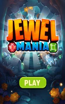 Gems & Jewel Mania - Free Match 3 Game apk screenshot