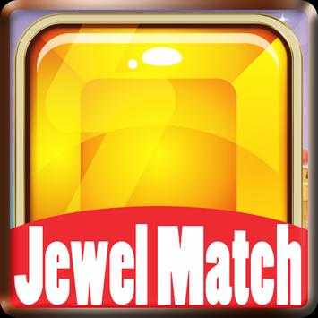 Match 4 Jewels: Puzzle Games 2018 poster