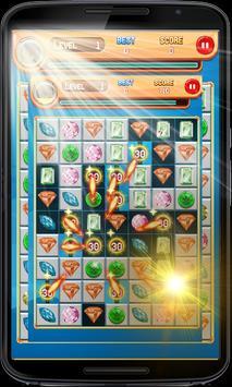 Match 4 Jewels: Puzzle Games 2018 apk screenshot