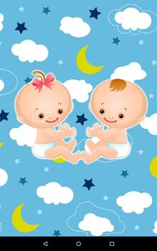 Children Twins Sharing poster