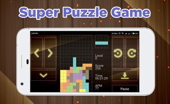 Brick Puzzle Block Classic poster