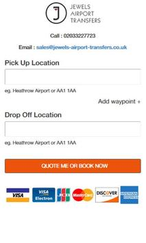 Jewels Airport Transfers screenshot 3