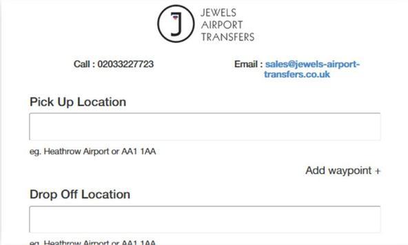 Jewels Airport Transfers screenshot 1
