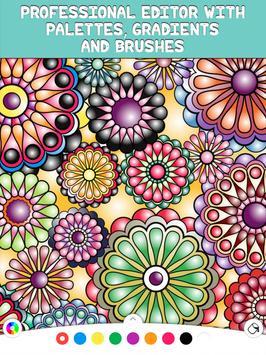 Coloring Book - Mandalapp screenshot 8