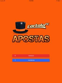Cartola Apostas apk screenshot