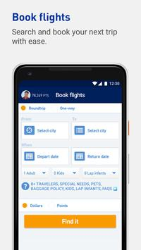 JetBlue apk screenshot
