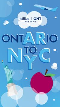 ONT to NYC poster