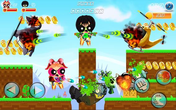 Super Puff Jetfire Girls screenshot 2