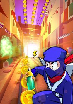 Subway, Dragon Ninja Shadow Battle apk screenshot