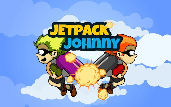 Endless Jetpack Johnny poster
