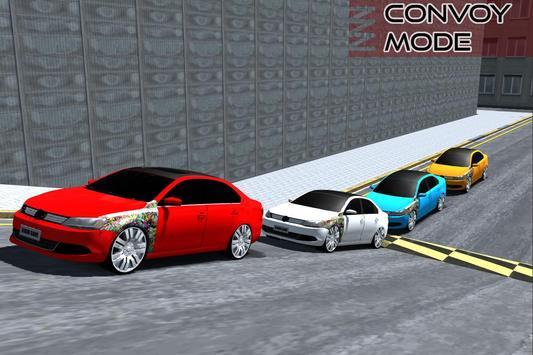 Jetta Convoy Simulator apk screenshot