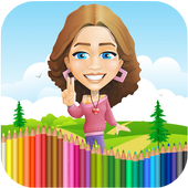 jeux de coloriage barbie free educational game for