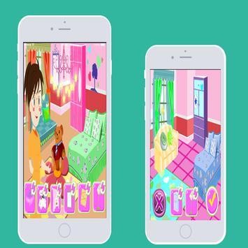 احدث العاب البنات-تزيين الغرفة screenshot 1