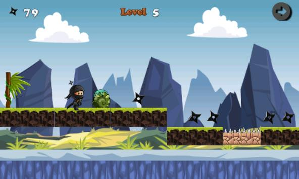 Temple Ninja jungle screenshot 2