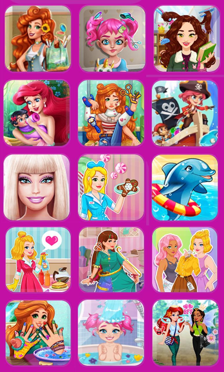Jeux De Fille Habillage Et Maquillage De Princesse For