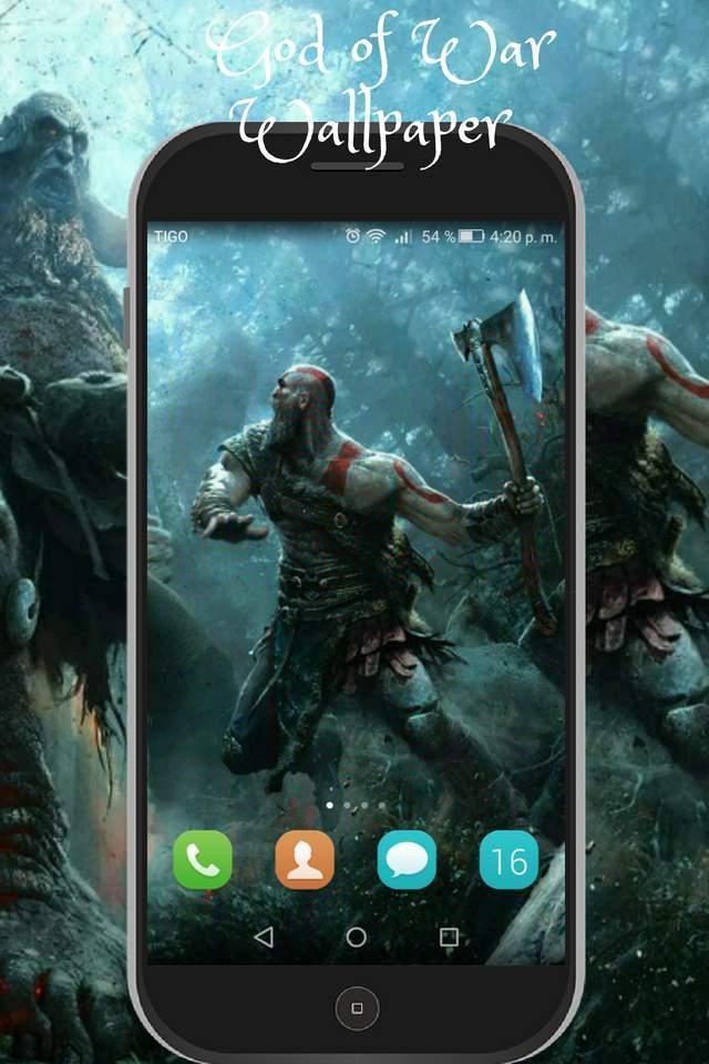 God Of War Wallpaper Hd Image Of Kratos And Atreus For