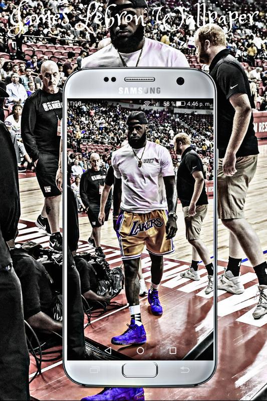 ... lebron james wallpaper lakers 2018 hd Basketball स्क्रीनशॉट 4