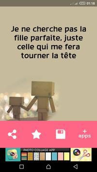 رسائل حب بالفرنسية للعشاق screenshot 6