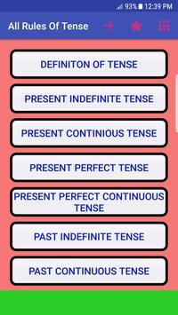 All Rules of Tense - Tense শেখার নিয়ম- Tense poster