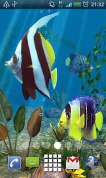 Angel Aquarium Live Wallpaper apk screenshot