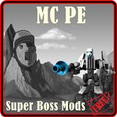 Super Boss Mods For MCPE icon