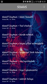 اغاني ناصيف زيتون 2019 بدون نت - nassif zaytoun screenshot 2