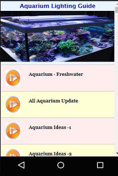Aquarium Lighting Ideas poster