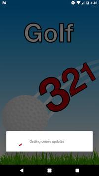 321 Golf poster