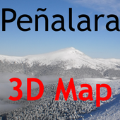 Peñarala 3D Map icon
