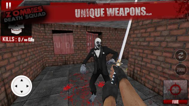 Zombies Death Squad : Dead Zombie Attack Shooter screenshot 16