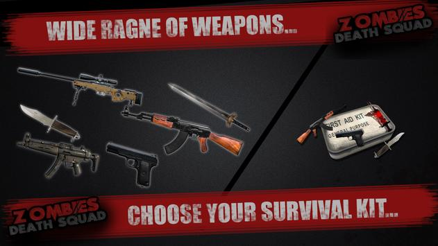 Zombies Death Squad : Dead Zombie Attack Shooter screenshot 20