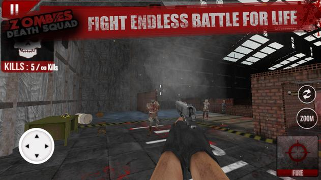 Zombies Death Squad : Dead Zombie Attack Shooter screenshot 2