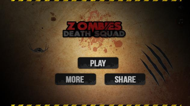 Zombies Death Squad : Dead Zombie Attack Shooter screenshot 6