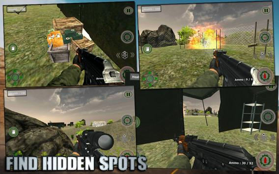 Call Of Forces Commando Games apk screenshot