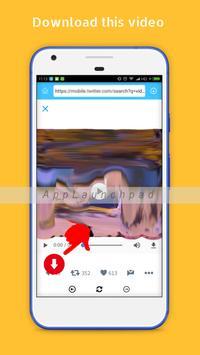 Video Downloader for Twitter apk screenshot