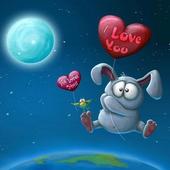 Live Wallpaper Rabbit Balloon icon