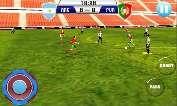 Football World Cup 2018 League Game screenshot 1