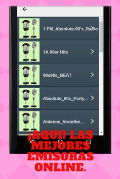 Musica De Los 90's Online apk screenshot