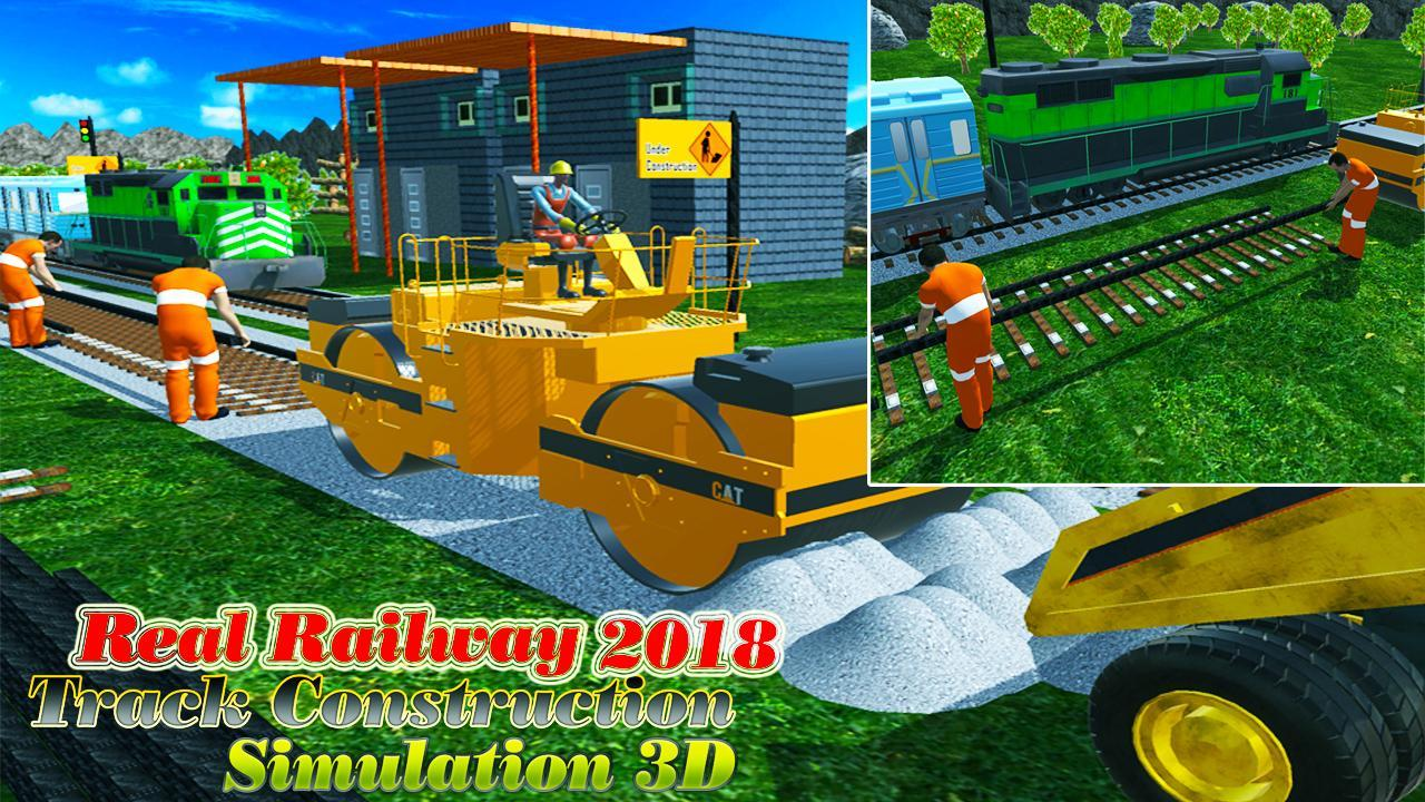Real Railway Track Construction Simulation 3D 2018 for Android - APK