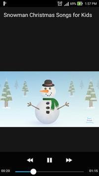 Snowman Christmas Songs for Kids /w Lyrics Offline screenshot 2