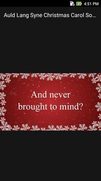 Auld Lang Syne Christmas Carol Song Offline screenshot 1