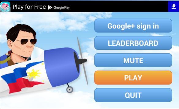 Duterte for President Campaign poster