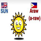 English to Filipino Nature icon