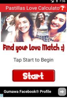 Pastillas Girl Love Calculator poster